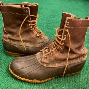 Vintage 60s LL Bean Maine hunting boots size 11
